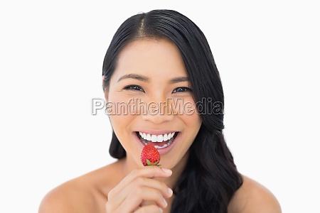 kvinde fnise smiler smukke smuk skon