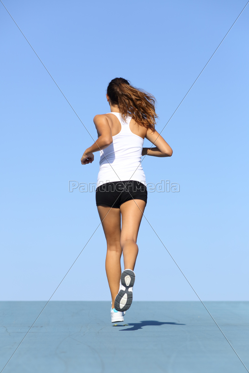 back, view, of, a, fitness, woman - 10043444