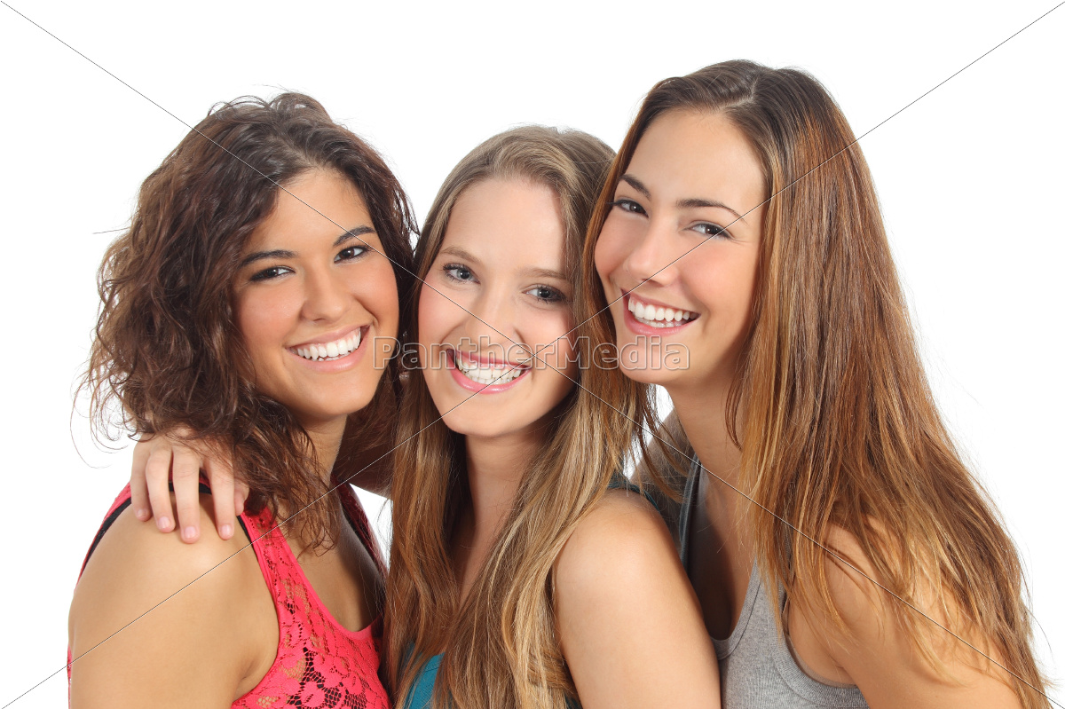 group, of, three, women, laughing, and - 10043678