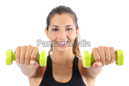 woman, loss, weight, training, exercise, aerobic - 10043536