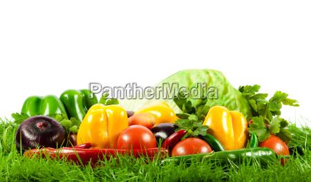 healthy eating seasonal organic raw vegetables