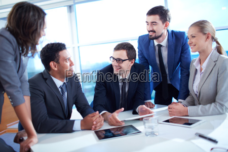 discussing, ideas - 10047466
