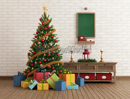 vintage, christmas, interior - 10051066