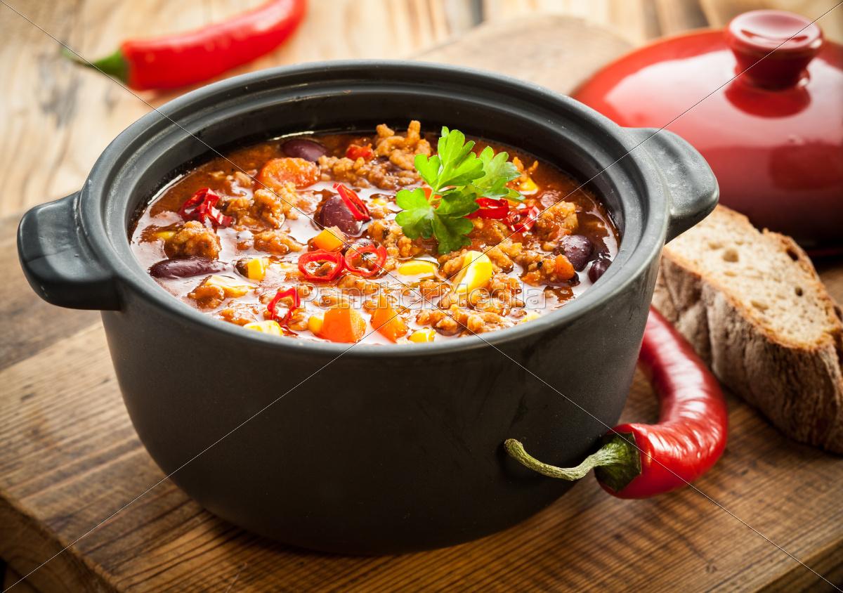 tasty, spicy, chili, con, carne, casserole - 10055032