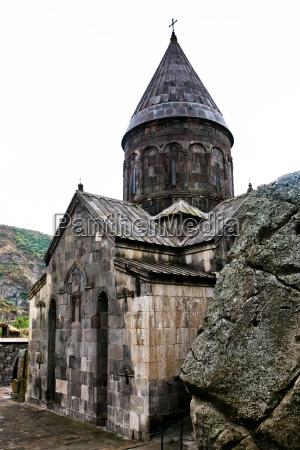 medieval, geghard, monastery, in, armenia - 10071250