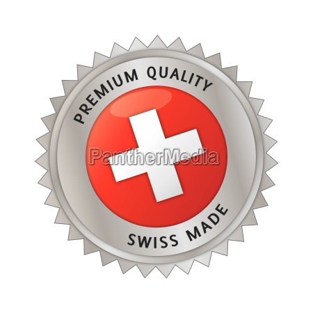 swiss made made in switzerland seal