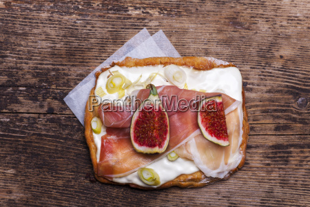 tarte with figs