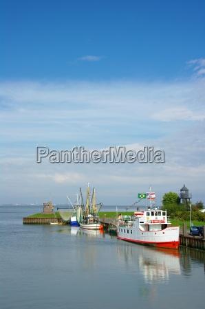overlooking the port of dangast lower