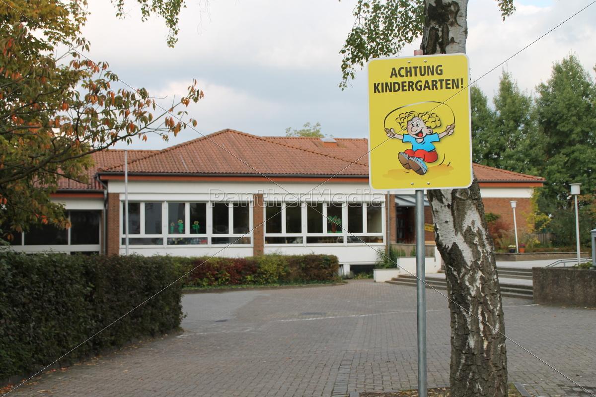 a, kindergarten, shield - 10096276