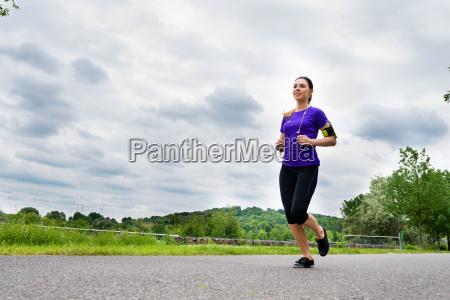 fitness sports woman workout run jog