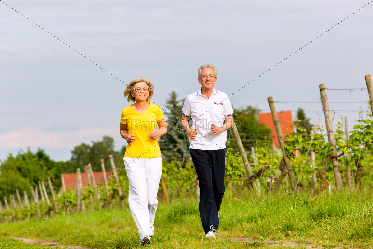 seniors, jogging, in, the, country - 10102016