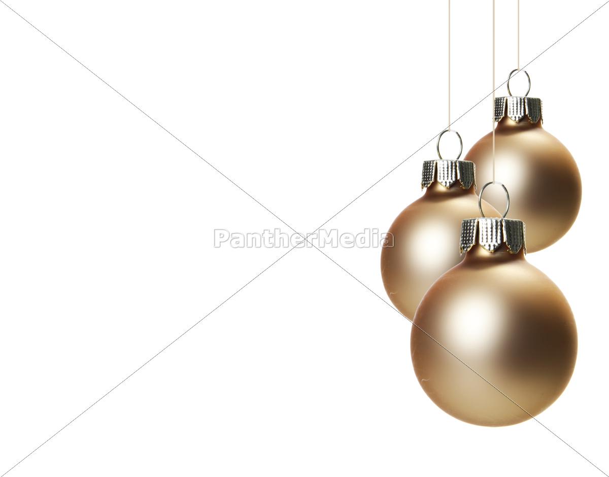 beige, christmas, tree, balls, hanging, freely - 10104467