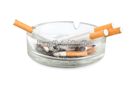 ashtray isolated