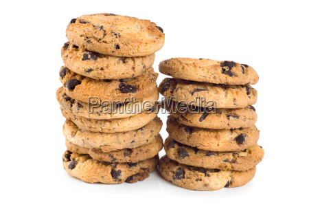 two stacks cookies