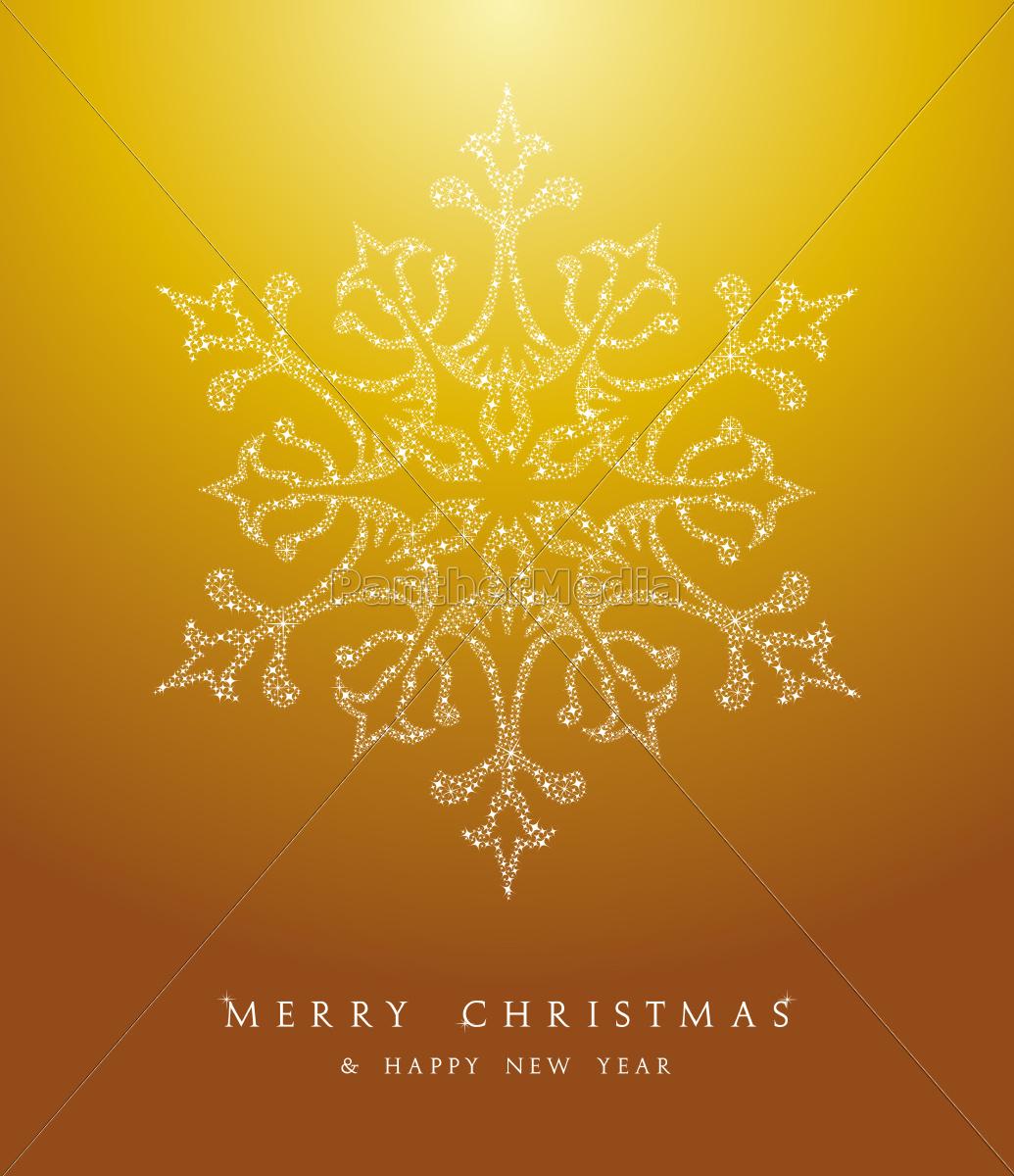 luxury, merry, christmas, snowflake, background, eps10 - 10113787
