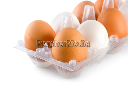 tray, eggs, isolated - 10115833