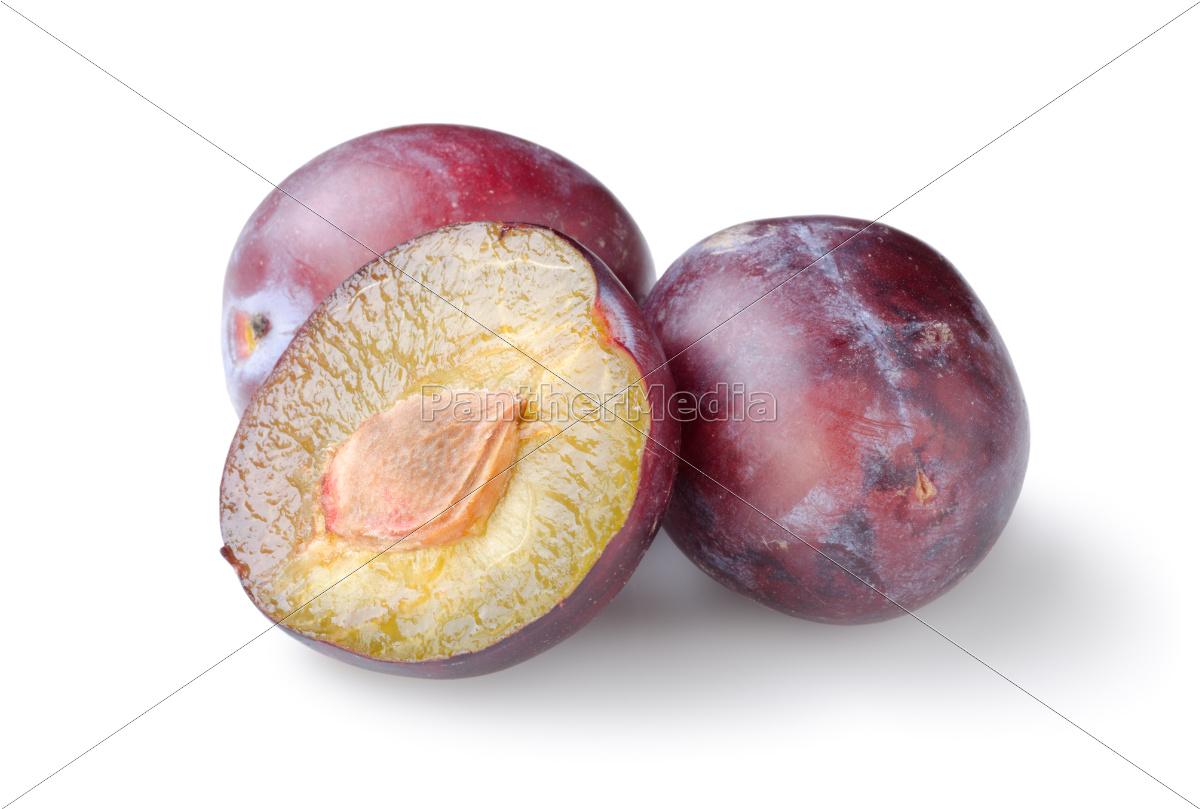 three, plums - 10116353