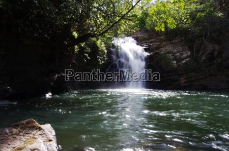pirenopolis cachoeira santa maria