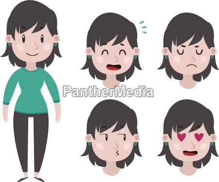 girl expressions