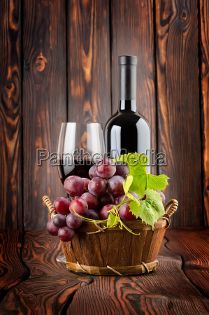 wine, and, grapes - 10122831