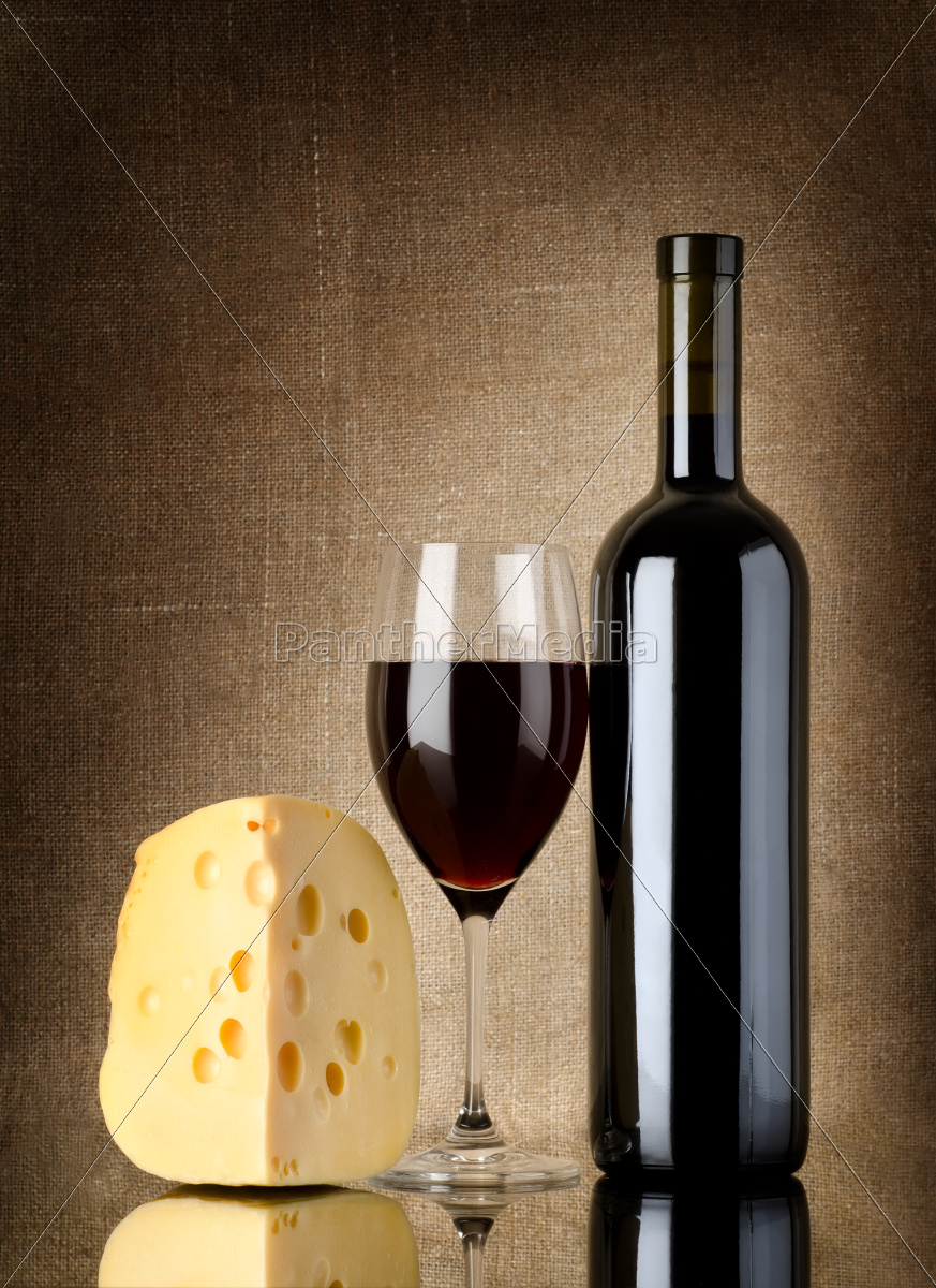 red, wine, and, cheese - 10123827