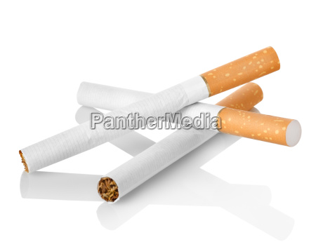 cigarettes with orange filter