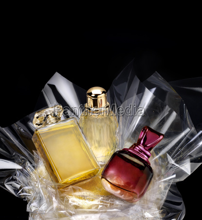 generic perfume bottles in a gift