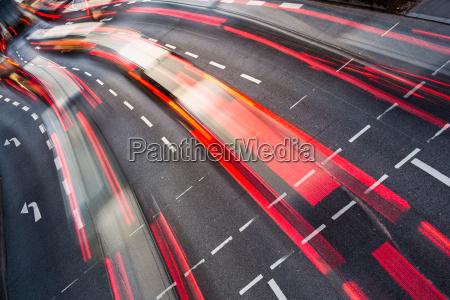 motion, blurred, city, road, traffic, - 10148011