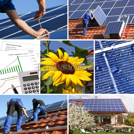 collage solar and offer installation