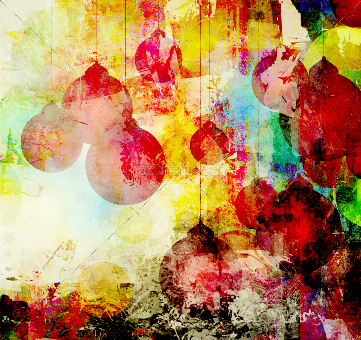 christmas, balls, colorful - 10155889