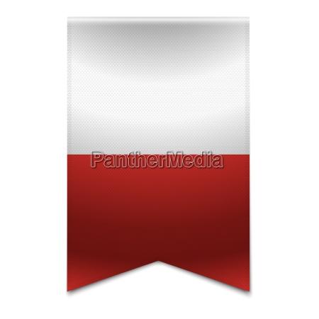 ribbon banner maltese flag