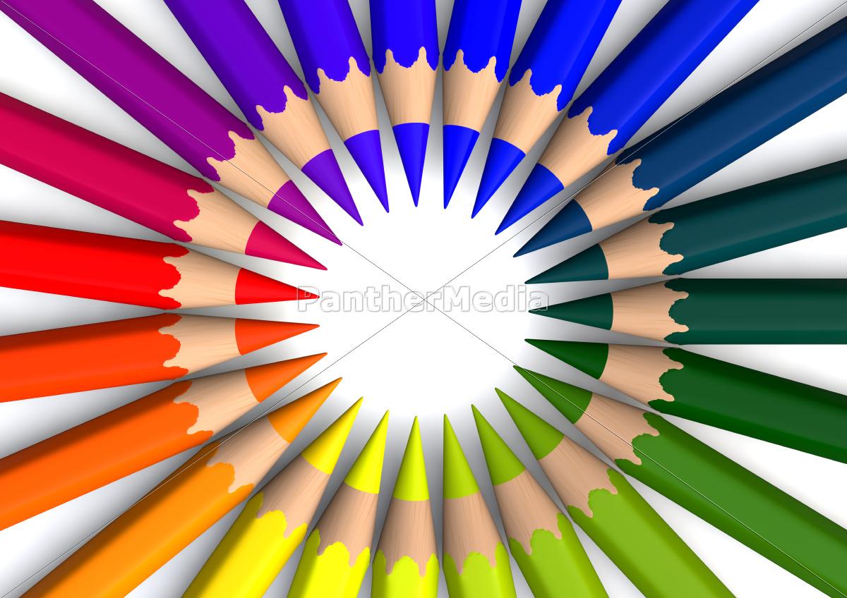 circle, of, crayons - 10159153