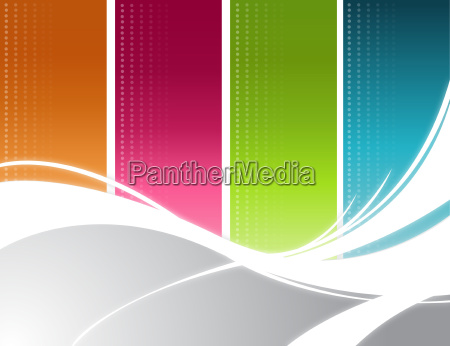 color, rays, background - 10166079