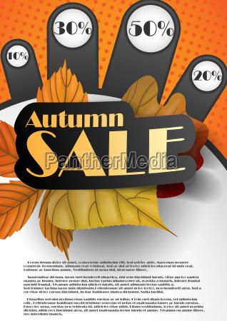 autumn, sale. - 10168905