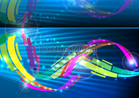 abstract, colorful, background. - 10169555