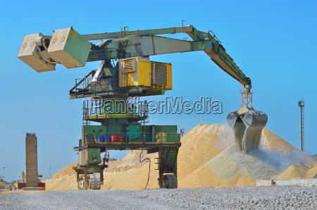 heavy excavator loader