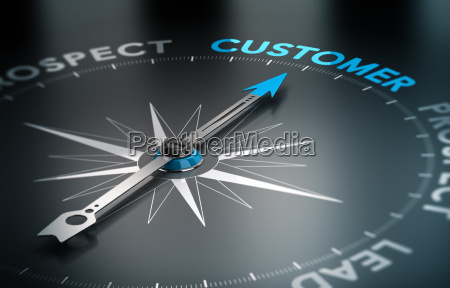 business customer concept