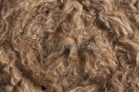 insulation materials glass wool detail