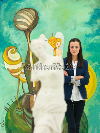 happy, art, gallery, owner - 10185917