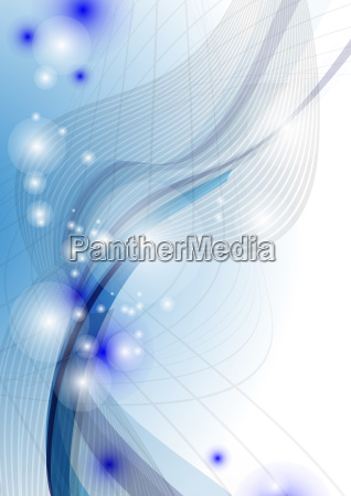 blue, wave, abstract, background. - 10186447