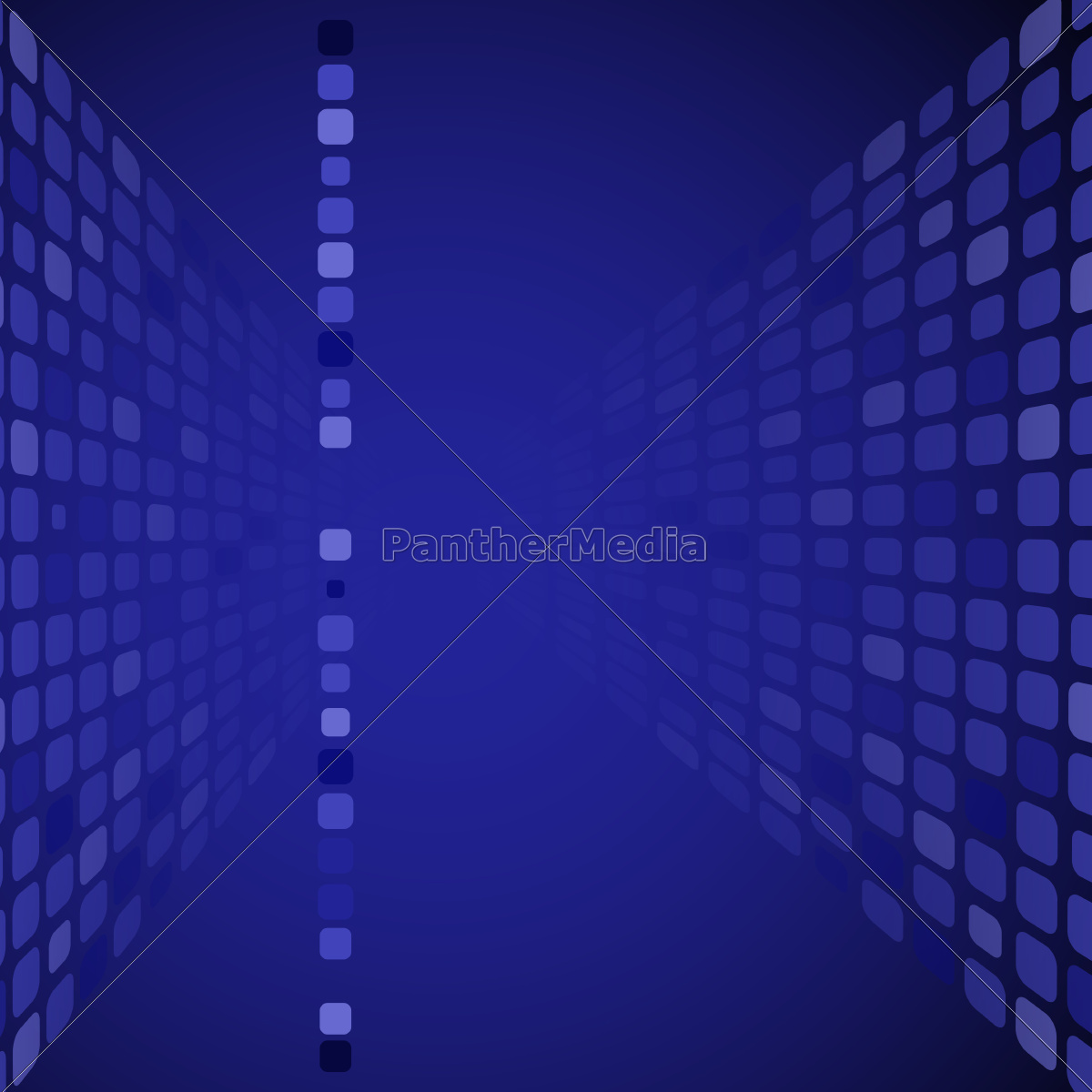 perspective, blue, rectangles, background. - 10186653