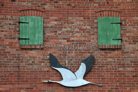 facade decoration of the ecological station