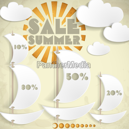 summer sale business background