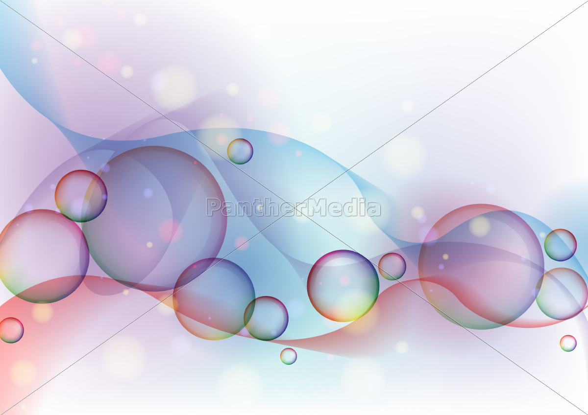 colorful, glowing, bubbles, background. - 10191067