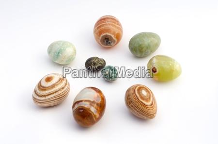 easter eggs made of gems