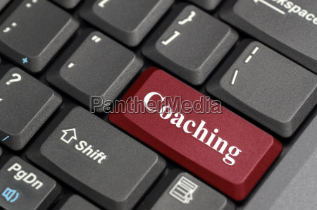 coaching on keyboard