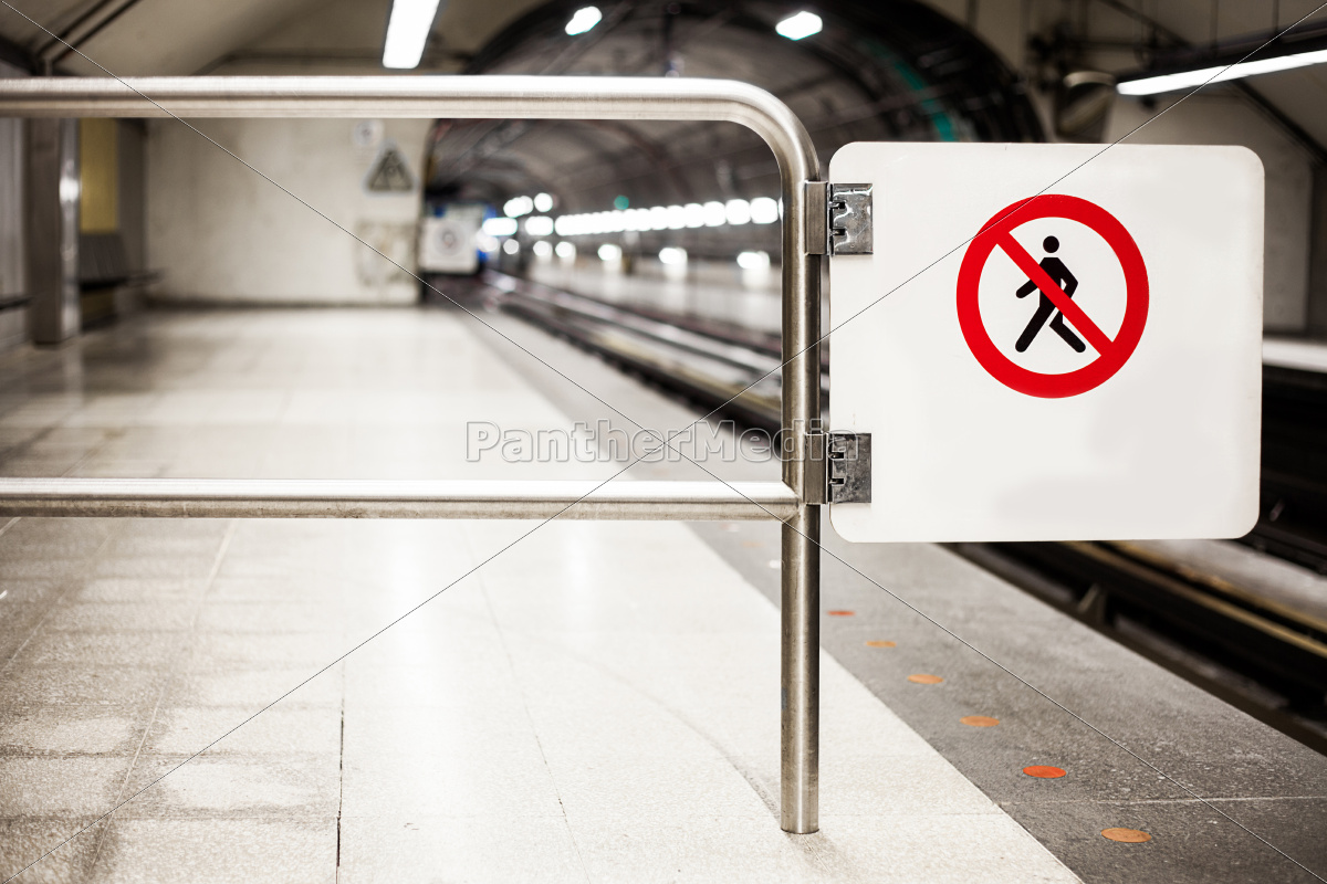 safety, interdiction, sign, (do, not, cross) - 10195773