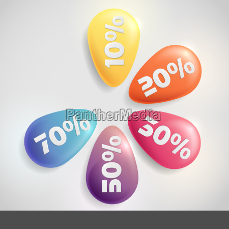 sale, buttons, with, discount. - 10197789