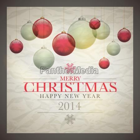 retro, christmas, card - 10199161