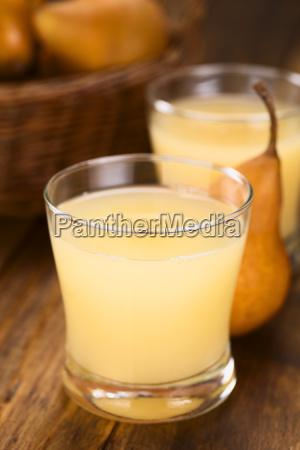 pear juice